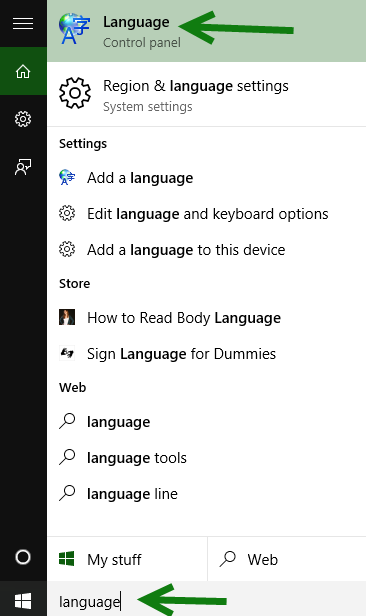 Windows 10 control panel
