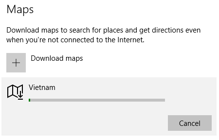 Windows 10 download offline maps