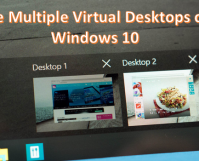 Activate Multiple Virtual Desktops on Windows 10