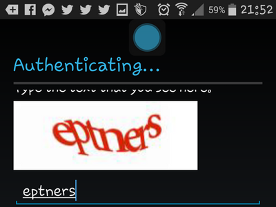 Android - Create Google - Captcha