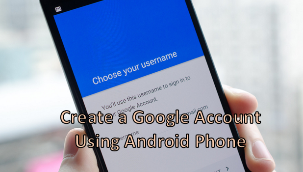 make new google account without phone number