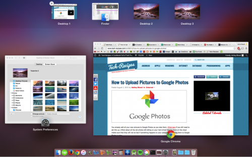 Mac Multiple Desktops
