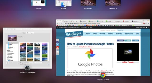 Mac Multiple Desktops