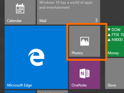 Windows 10 - App with Live Tile - Turned to Static
