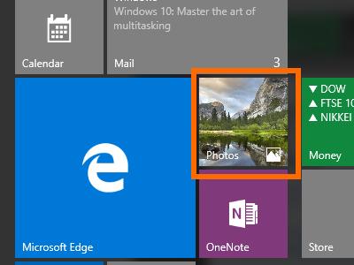 Windows 10 - App with Live Tile