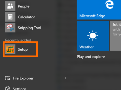 Windows 10 - Right click on an app icon
