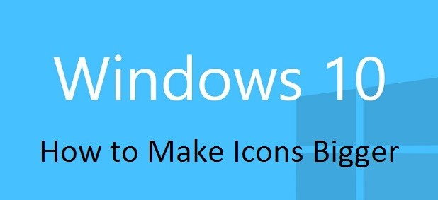 How to Make Icons Bigger