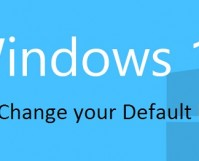 Windows 10 How to Change Default Browser