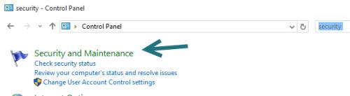 Windows 10 Security & Maintenance