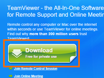 Download Teamviewer on your computer