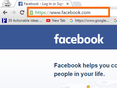 Facebook official link