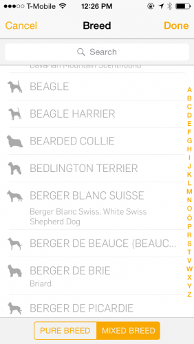 Tractive GPS Dog Walk App