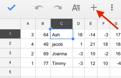 How to Add & Delete Columns and Rows in Google Sheets