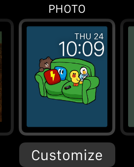 Apple Watch Photo Watch Face