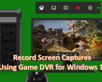 Record Screen Capture using Game DVR for Windows 10