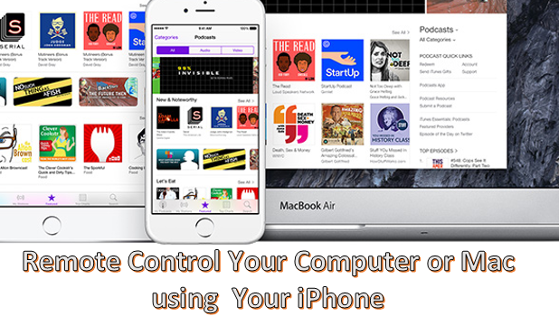 Remote Control PC and Mac Using iPhone