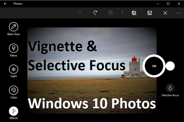how to add text to a photo in windows 10