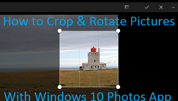 Rotate And Straighten Images With The Crop Tool In Camera – Dibujos