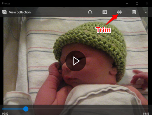 Trim Video Windows 10 Photos