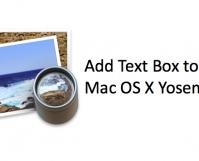 Add Text Box to PDF Mac Yosemite