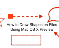 How to Draw Shapes on Mac Preview