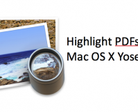 Highlight PDFs Mac Yosemite