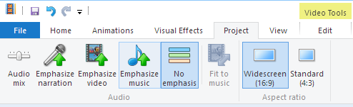 how to add wav to windows movie maker