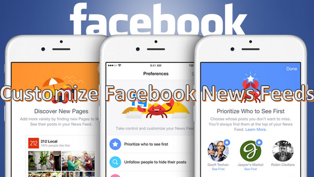 Prioritize Facebook News Feeds