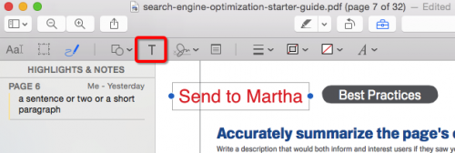 How to Add a Text Box to a PDF on Mac