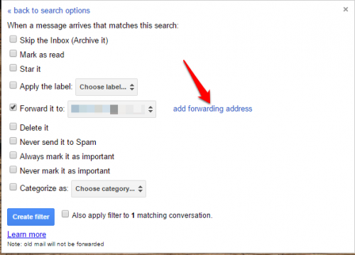 how to change email forwarding on yahoo