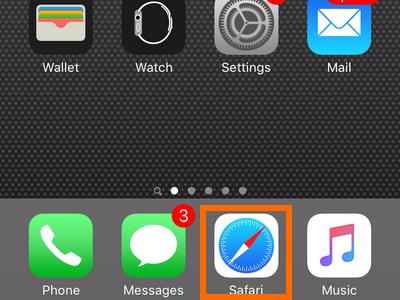 iPhone - Safari