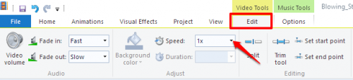 Windows Movie Maker Speed Control