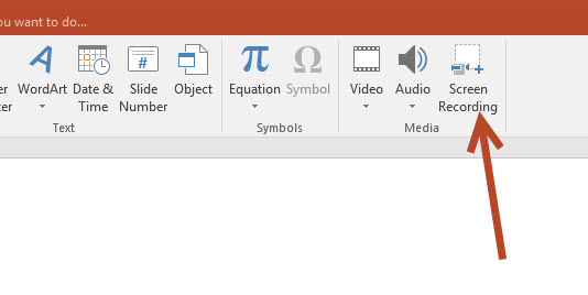 PowerPoint Screen Recording