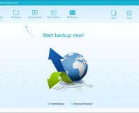 EaseUS Todo Backup Main Screen