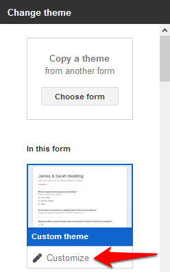 How to Add a Theme to Google Forms