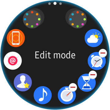 Gear S2 Uninstall App