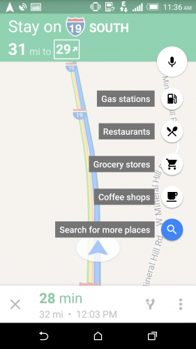 Google Map Gas