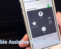 Turn ON Assistive Touch on iPhone
