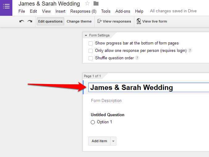 How to create basic google forms google forms name ccuart Gallery
