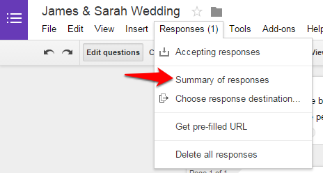 How to View Responses to Google Forms