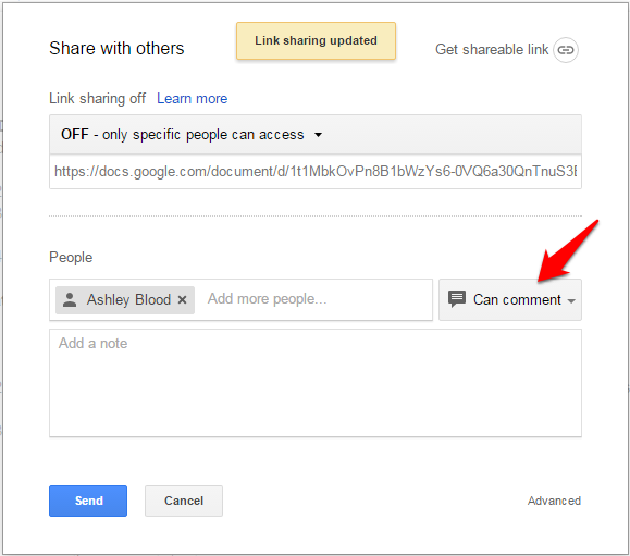 How to use google docs review mode for Page color google docs