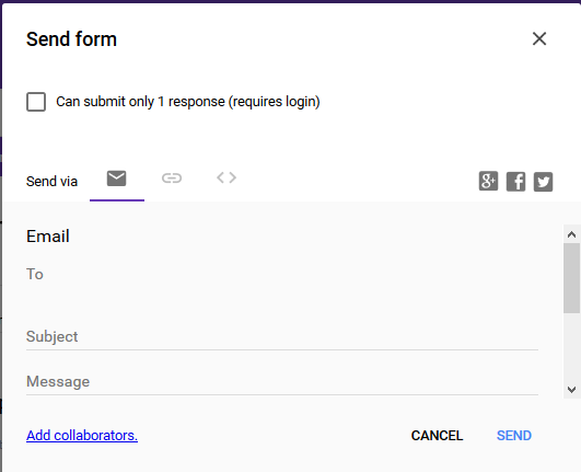 Send a Google Form Email