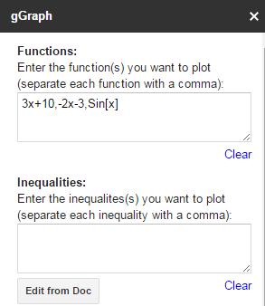 gGraph enter function