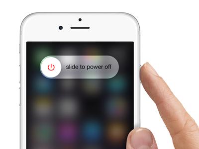 iphone - turn off iPhone