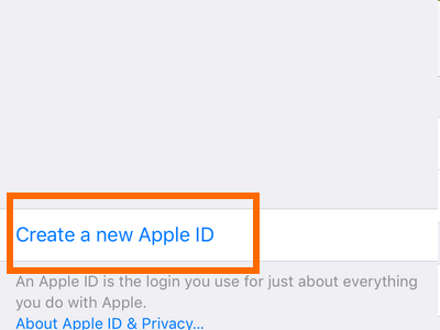 Clash of Clans - Create new apple ID