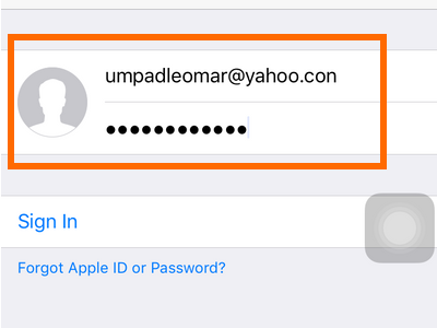 Clash of Clans - Login Existing Apple Account