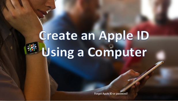 Create an Apple ID Using Computer