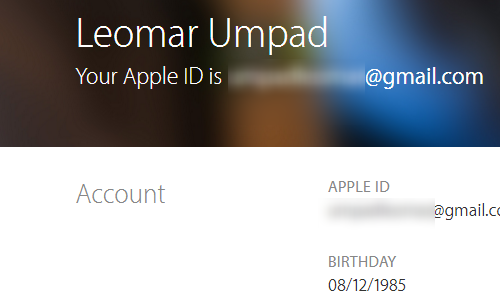 Create your Apple ID - APPLE ID Created