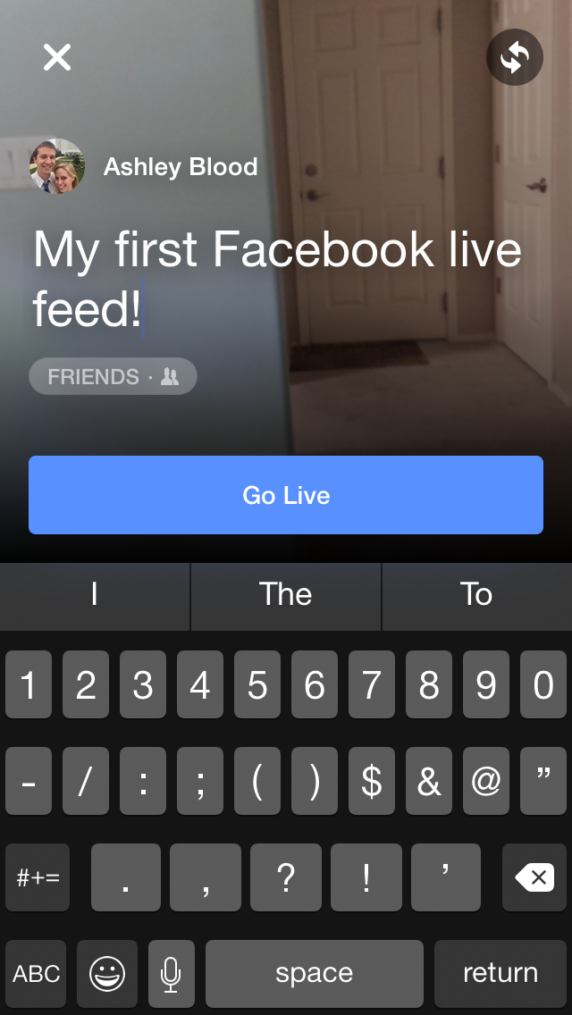 How to Use Facebook Live Video