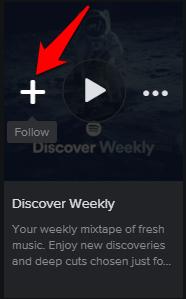 Spotify Follow Playlist